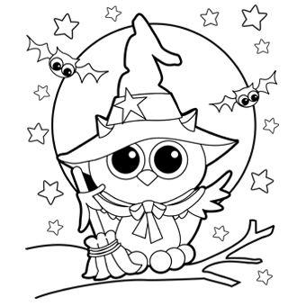 Coloring Themes | Coloring Pages For Kids With Halloween Themes Parenting