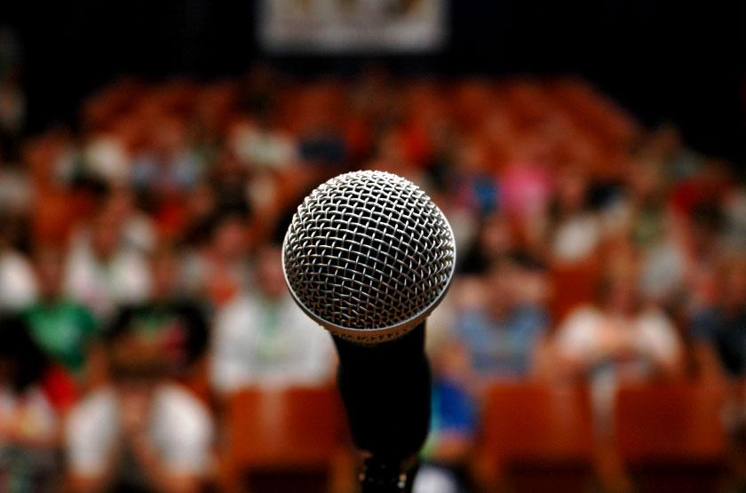 Elocution and speech competitions