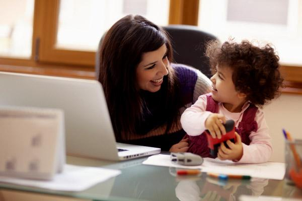 Work from home for moms